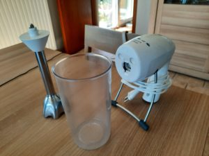 You can use a mixer to make a smoothie