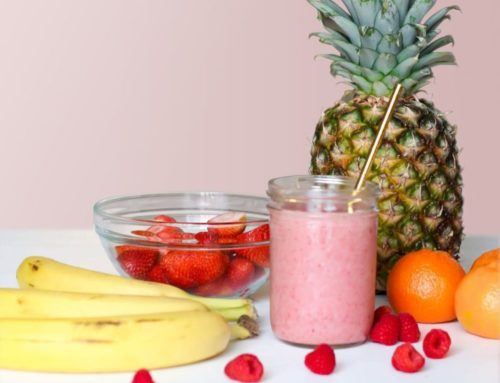 A little story by Ginie's: Do you know how to make a smoothie?