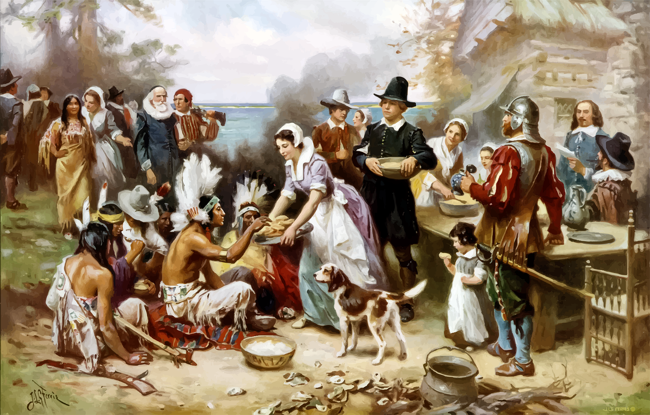 first thanksgiving in usa